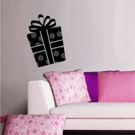 Vánoční samolepka Dáreček Wall Sticker Gift