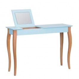 Světle tyrkysový toaletní stolek se zrcadlem Ragaba Dressing Table,délka105cm