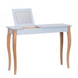 Světle šedý toaletní stolek se zrcadlem Ragaba Dressing Table,délka105cm