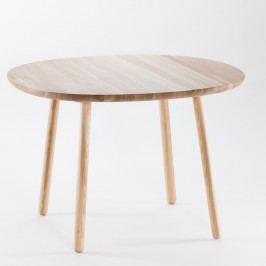 Přírodní jídelní stůl z masivu EMKO Naïve, 110 cm