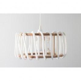 Bílé stropní svítidlo EMKO Macaron, 45 cm