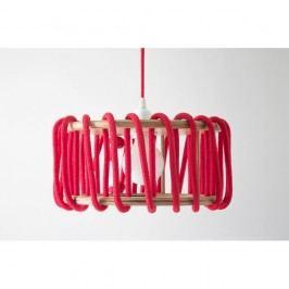 Červené stropní svítidlo EMKO Macaron, 45 cm