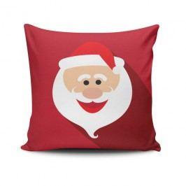 Polštář Happy Santa Face, 45x45 cm