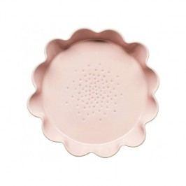 Růžová porcelánová forma na koláč Sagaform Piccadilly, ⌀28cm