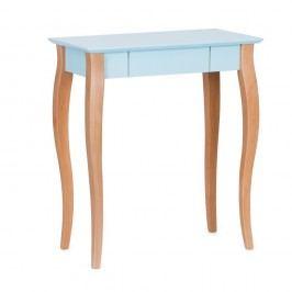 Světle tyrkysový psací stůl Ragaba Lillo,délka65 cm