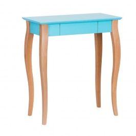 Tmavě tyrkysový psací stůl Ragaba Lillo,délka65 cm