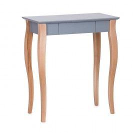 Tmavě šedý psací stůl Ragaba Lillo,délka65 cm