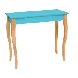 Tmavě tyrkysový psací stůl Ragaba Lillo,délka85 cm