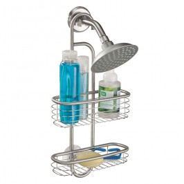 Závěsný kovový držák do sprchy iDesign Forma, 25x52cm