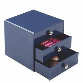 Modré šuplíčky InterDesign