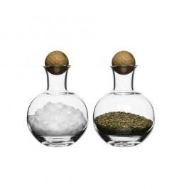 Slánka a pepřenka Sagaform Oval Oak, 200 ml