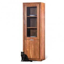 Vysoká vitrína z palisandrového dřeva SOB Margao