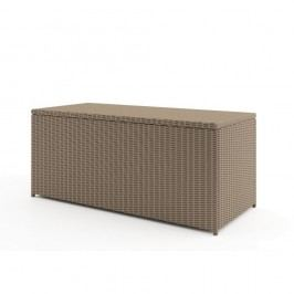 Větší béžový úložný box Oltre Scatola