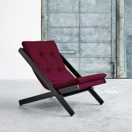 Skládací křeslo Karup Design Boogie Black/Bordeaux