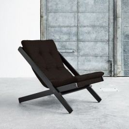 Skládací křeslo Karup Design Boogie Black/Brown
