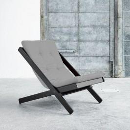 Skládací křeslo Karup Design Boogie Black/Grey