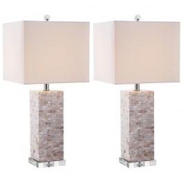 Sada 2 stolních lamp Safavieh Barrow