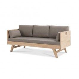 Béžová matrace s polštáři k pohovce Kiteen Notte, 200x75cm