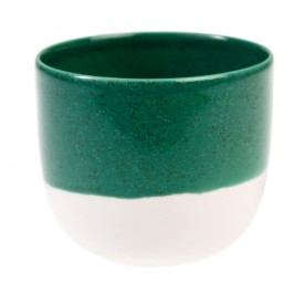 Tmavě zelený svícen na čajové svíčky Rex London Plant