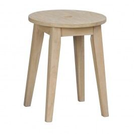 Matně lakovaná dubová stolička Folke Gorgona, výška 44 cm