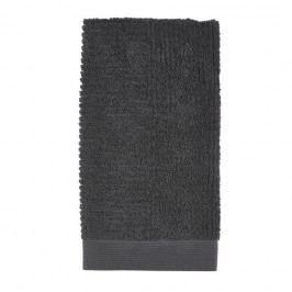 Černý ručník Zone Nova,100x50cm
