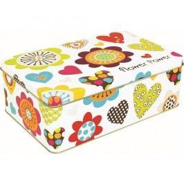 Úložný box Incidence Flower Power