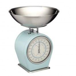 Modrá kuchyňská váha Kitchen Craft Living Nostalgia, nosnost 4 kg
