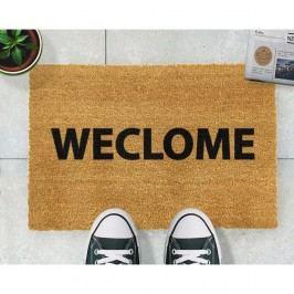 Rohožka z přírodního kokosového vlákna Artsy Doormats Weclome Funny,40x60cm