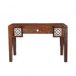 Psací stůl z mangového dřeva SOB Ivory