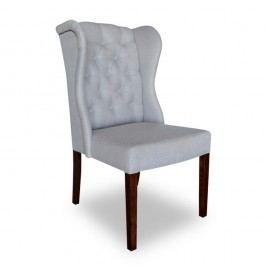 Světle šedá jídelní židle Massive Home Michelle
