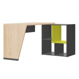 Psací stůl v dubovém dekoru Szynaka Meble Wow
