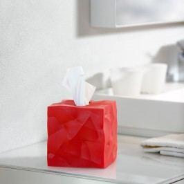 Box na kapesníčky Wipy Cube Red