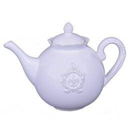 Bílá konvička na čaj Ego Dekor Vintage, 1,22l