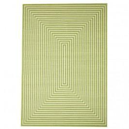 Zelený vysoce odolný koberec Webtappeti Braid, 160x230cm