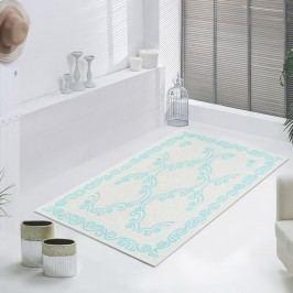 Modrý odolný koberec Vitaus Primrose, 80x150cm