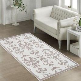 Béžový odolný koberec Vitaus Grace, 80x150cm