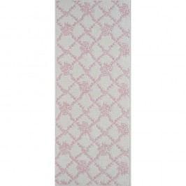 Pudrově růžový odolný koberec Vitaus Scarlett, 80x150cm