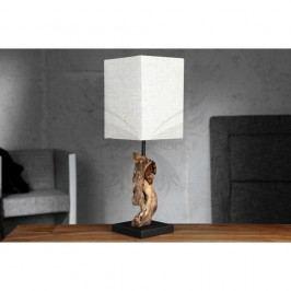 Béžová stolní lampa SOB Ela