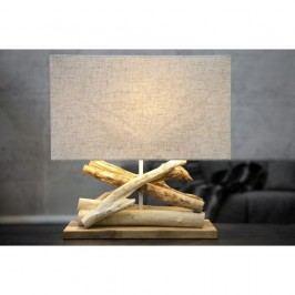Béžová stolní lampa SOB Ania