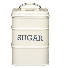 Krémová plechová dóza na cukr Kitchen Craft Nostalgia
