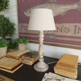 Béžová stolní lampa Orchidea Milano Antique,45cm
