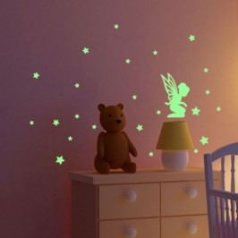 Svítící samolepka Fanastick Fairy With Small Stars