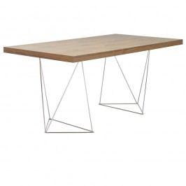 Hnědý stůl TemaHome Multi, 160 cm