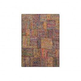 Barevný hedvábný koberec s bílými vláknyThe Rug Republic Silk Lane, 230x160cm