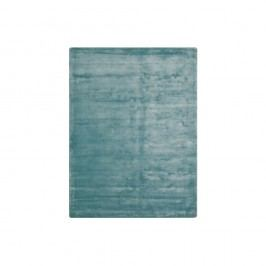 Tyrkysový viskózový koberec The Rug Republic Aurum, 230x160cm