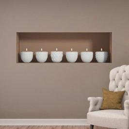 3D samolepka na zeď Ambiance Candles