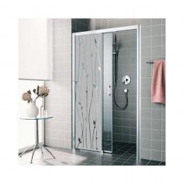 Voděodolná samolepka do sprchy Ambiance Romantic, 120 x 35 cm