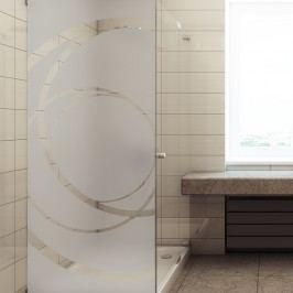 Voděodolná samolepka do sprchy Ambiance Giant Frosted, 200 x 75 cm