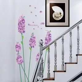 Sada samolepek Ambiance Romantic Iris Flowers