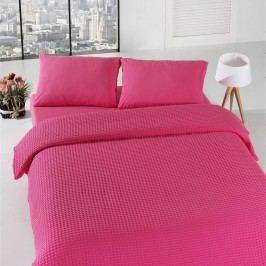 Lehký přehoz přes postel Fuchsia Pique,200x235cm